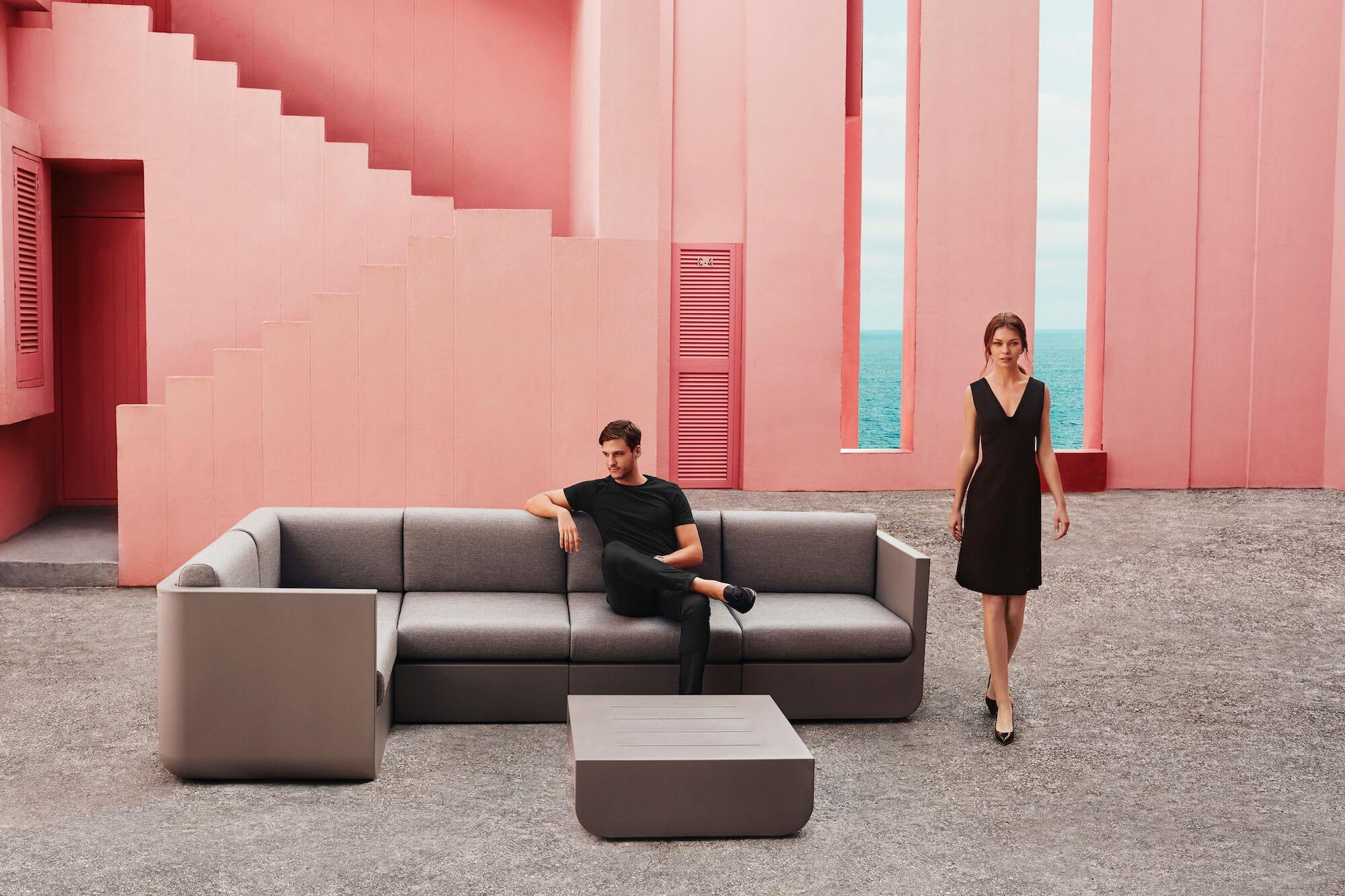 polypropylène acrylique jardin en Salon modulable de Ulm et XiOPZTku